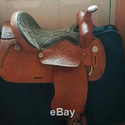 Western Saddle by Saddle king and accessories