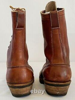 White's Hathorn Mens Leather Western Packer Riding Roper Ranch Work Boots 10.5 D