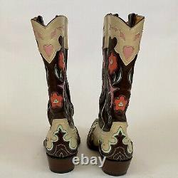 Womens Boot Star by Old Gringo Boots 7 B Swallows Hearts Flowers
