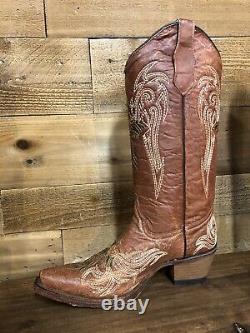 Womens Circle G Western Cowboy Boots- Snip Toe Size 8 L5272 Last Pair