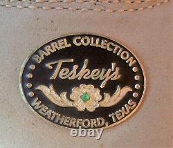 14 14.5 Teskey's Texas Barrel Collection Occasion Western Saddle & Pleasure Trail