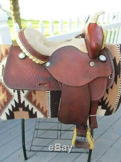 14 ' ' Buffalo Sellerie Baril Ouest Selle Sqhb