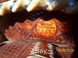 15,5 Haute Qualité Utilisé Ouest 2014 Trophée Selle Sentier Plaisir Ranch Roping