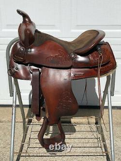 15 Big Horn #901 Western Horse Saddle W Youth Fenders