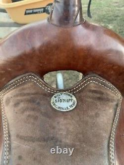 17 Billy Cook Western Saddle