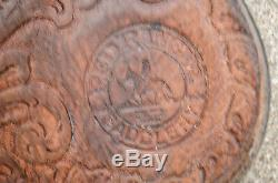 2 Pcs Vintage Western Cheval Saddles Ranger Rouge Taille 15 Sellerie