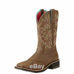 Ariat 10018676 Dalila 10 Grand Place Toe Western Cowgirl Mode Bottes D'équitation