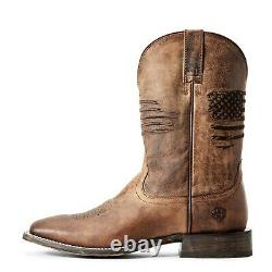Ariat Men's Circuit Patriot Weathered Tan Boots 10029699