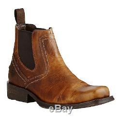 Ariat Midtown Men Rambler Barn Place Toe Chelsea Bottes 10019868