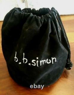 Bb Simon Custom Made Western Strass Femmes Ladies Ceinture De Vache Pdsf 525 $ Nouveau