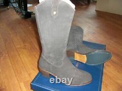 Bnib Fairfax & Favor The Rockingham Chocolate Suede Boots Size Uk 6. Épuisé