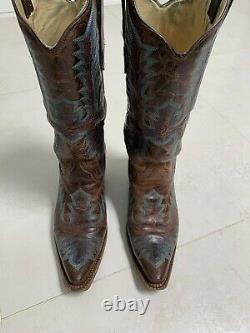 Bottes Cowboy Mexicaines Taille 9 Incroyable