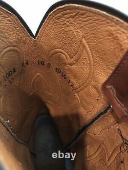 Bottes De Cowboy Lucchese Taille En Cuir Hommes 10 D