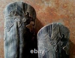 Bottes De Femme Lane Dawson Bottes En Cuir Occidental Brun / Taille 7