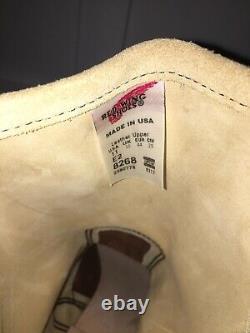 Bottes Rares Aile Rouge 8268 Ingénieur Hawthorne Abilene Roughout Limited Japon 11ee