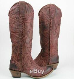 Bottes Western Cowgirl Lane Bottes Plain Jane Femmes Taille 8.5