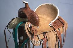 C-8-12 12 Enfants Enfants Enfants Miniature Pony Saddle Leather Trail Western Tack