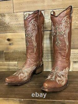 Cercle Womens G Bottes De Cow-boy De Western - Snip Toe Taille 8 L5272 Dernière Paire