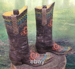 Cowgirl Femmes Western Old Gringo Brodé Zarape 10 B Cowboy Bottes