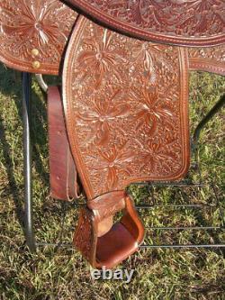 Dale Chavez Cupertino 16 Ahogony Saddle Avec L'outil De Gloire Matinale