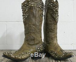 Double D Ranch Par Western Boots Cowgirl Lane Bottes Peralta Femmes Taille 6.5