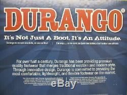 Durango Mens Cowboy Brown Faded Patriot Drapeau Cuir Occidental Bottes Taille 10 D