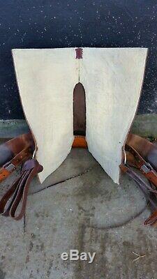 Equiflex Western Saddle 59 Arbre Complet Quarter Horse 16 Siège