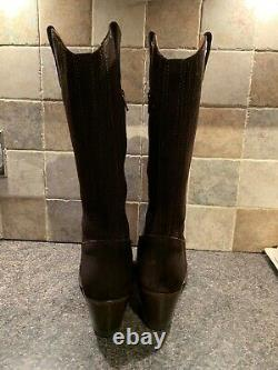 Fairfax Et Favor Rockingham MID Calf Chocolate Boots Taille 5 Eu 38