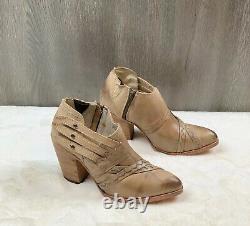 Freebird By Steven Gate Bottine En Cuir Boot Brown Taille 10 Femme