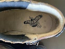 Freebird Par Steven Brown Cuir Folsom Western Cowboy Bootie Taille 7 Euc