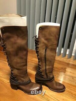 Freebird Par Steven Coal Women Brown Leather Boots Taille 9
