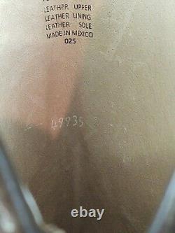 Freebird Par Steven Dante Mode Vintage Distressed Cuir Haut Bottes Sz 8 Rare