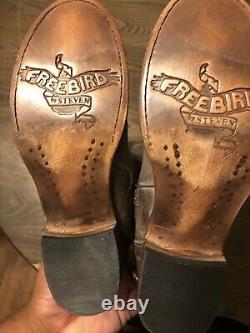 Freebird Par Steven Stag Boot Nwob Taille 395 $ Pdsf 7 Cognac