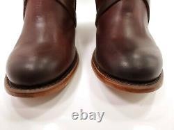 Freebird Par Steven Womens Baker Cognac Brown Leather Boots With Box Us Sz 8