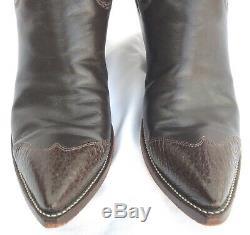 Grand Handmade Custom Hommes Paul Bond Western Cowboy Bottes 12,5 D