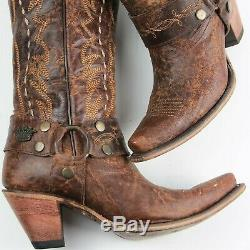 Gypsy Indésirable Par Western Cowgirl Bottes Taille Lane Bottes Vagabond 9 Femmes