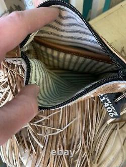 Holy Cow Couture Sling Shot Hair On Hide Western Handbag Crossbody Purse