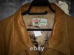 Levi's LVC 40's Lone Pine Vintage Cowboy Western Lamb Veste En Cuir, Taille XL