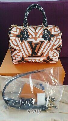 Louis Vuitton Speedy 25 Crafty Capsule Sac Caramel Authentique LV Tout Neuf