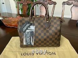 Louis Vuitton Speedy 25 Monogramme Sac À Main En Cuir Marron Pvc