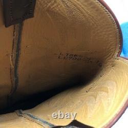 Lucchese Classics Taille Homme 10d Bottes Cowboy Carrées En Cuir Marron