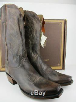 Lucchese Heritage Mason Hl1512.73 Boot Western Men Mad Dog Chèvre Stonewash Tan