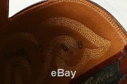 Lucchese Nouveau 5388 Alligator Belly Bias Cut Cowboy Bottes USA États-unis Hommes 12 D