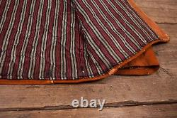 Mens Vintage Sears Années 1940 Tan Suede Leather Jacket Talon Zip Medium 38 R6892