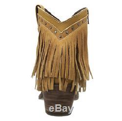 New Old Gringo Yippee Ki Yay Jamal Beige Brown Fringe Bottes En Cuir Sz 7 269 $