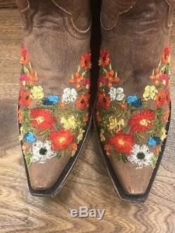 Nouveau! Boot Flore Old Gringo. Taille 9