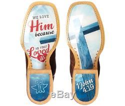 Nouveau Dans La Boîte Tin Haul Femmes I Love Jesus Bottes 1402100071215 Taille 289 $ Pdsf 6