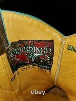 Old Gringo Womans Short Saddle Boot Taille 7b