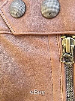 Ralph Lauren Collection En Cuir Souple Western Cowboy Equestrian Pant 14 Nwt 1498 $
