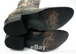 Rapide Des Navires! Mint Sz 7 Freebird Par Steven Rustl Rustler Silverado Western Boot